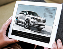 Lincoln MKC (Rich-Media Tablet Ad)