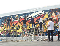 Neople company Art fence Project