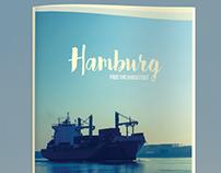"Broschürendesign ""Hamburg"""
