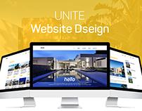 UNITE Website Concept