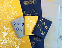 JARDIM - Pôster/zine em serigrafia