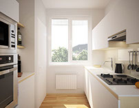 Design & Visualizations of Kitchen