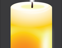 Candle Personal Graphic