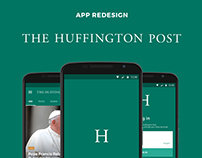 The Huffington Post - Android App Redesign