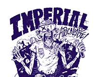 Imperial Apocalypse Zombie T-shirt / Campaign