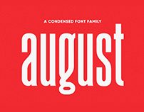 August Typeface - Free Font