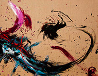 DRAGON DANCE - Paintings