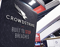 CrowdStrike Booth Design 2017 RSA conference in SF