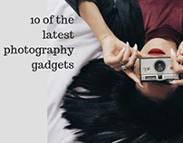 10 of the latest photography gadgets