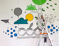 Kids Place * Mural Realisation