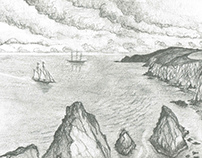 Ireland - Pencil Sketches