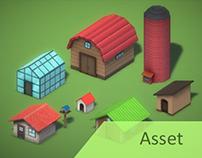 Farming Game: Ranch Buildings