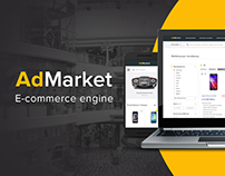 AdMarket — Free ecommerce engine