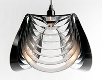 THREE pendant light - Aluminum / Black