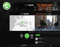 Citydoom mobile and desktop game design