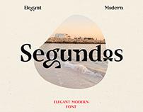 Segundos - Elegant/Modern Font