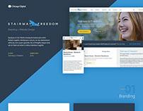 Stairway to Freedom - Website Design