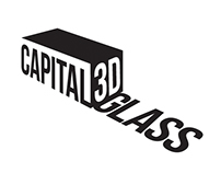 3D Logo Tasarımı Capital 3D Glass