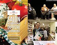 [WEB] Salon International du livre Gourmand