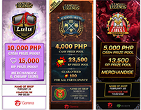 Garena PH Tournament Tarpaulin