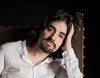 Retratos: Luis Herrero. Poeta y Artista Plástico.