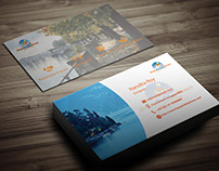 Business Card for House Rental Company
