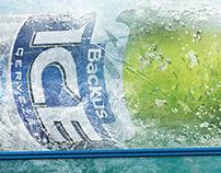 Retoque e ilustracion para camiones Backus Ice