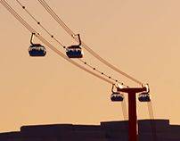 Cable Car Visualizations (4K-8K) for print (2016)