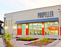Propeller Brand, Signage & Website