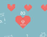 Origami Wall: Heart