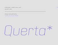 Querta - minimalist sans serif