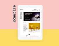 Website - Domicile