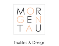 Morgentau silk scarves logo & business card
