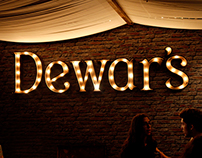 Dewar's booth