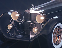 Mercedes-Benz Roadster 1930 Full CGI