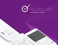 To Do List App