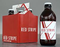 Red Stripe Rebrand