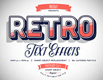 30 Retro Vintage Text Effects - BUNDLE
