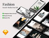 Fashion SocialMedia Post Kit