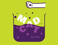 Logo concept for a fictional digital agency (2017)