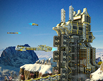 Cargo Starport. Sci-fi facilities 1.