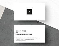 Business Card - 'Kelsey'