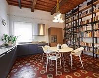 700's House Renovation Style by Iacopo Brogi