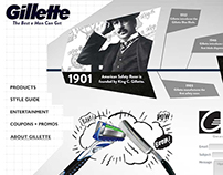 Gillette Website Redesign