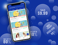 Beacon based Deals App for iPhone