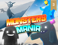 Monster Mania Oscar Creativo