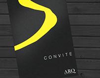 Convite para lançamento do Anuário ARQ - Edição V