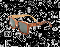 Bosky sunglasses pattern
