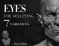 Eyes for sculpting