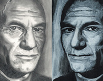 Faces of Patrick Stewart